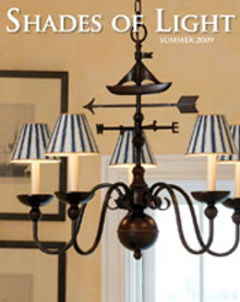 Picture of home lighting design from Shades of Light catalog