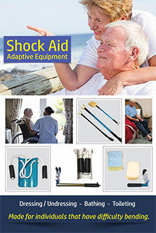Picture of shock aid catalog from Shock Aid catalog