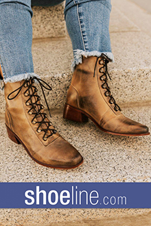 Picture of shoeline from Shoeline.com - H.H. Brown Shoe Company catalog