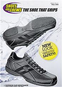 Picture of womens work shoes from Shoes For Crews catalog