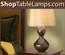 Picture of unique lamps from ShopTableLamps.com catalog