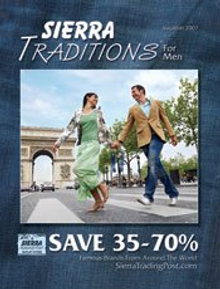 Picture of men's clothes from Sierra Traditions for Men catalog