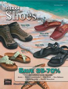Picture of discount western boots from Sierra Shoes etc catalog