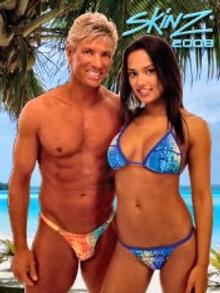 Picture of sheer bikini from Skinzwear catalog