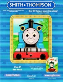 Picture of Thomas the Train from Smith-Thompson Railroad Gifts catalog