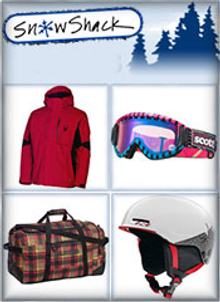 Picture of ski pants from Snow Shack catalog