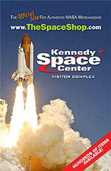 Picture of space toys from The Space Shop at Kennedy Space Center catalog
