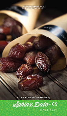 Picture of stuffed medjool dates from Sphinx Date Co. Palm & Pantry