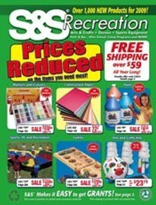 Picture of craft making kits from S&S Worldwide Crafts catalog