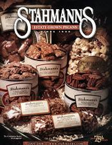 Picture of candied pecans from Stahmanns Estate Grown Pecans catalog