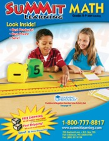 Picture of cool math games from Summit Math catalog