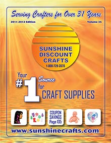 Picture of wholesale jewelry findings from Sunshine Discount Crafts catalog
