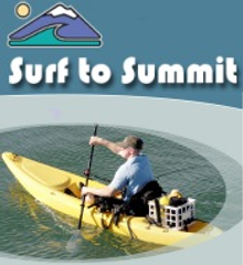 Picture of kayak accessories from Surf to Summit catalog