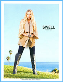 Picture of women's surf clothing from Swell.com catalog