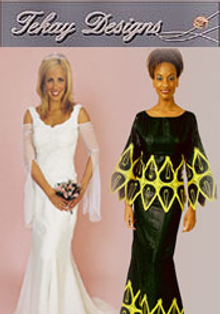 Picture of bridal dresses collections from Tekay Designs Wedding Apparel catalog