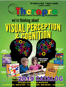 Picture of pediatric occupational therapy from  Therapro catalog
