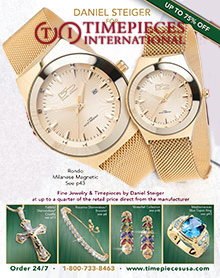 Picture of luxury timepieces from Timepieces International