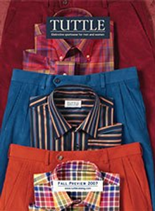 Picture of preppy clothes from Tuttle Catalog catalog