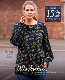 Picture of plus size outfits from Ulla Popken - Popken Fashions catalog