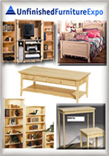 Picture of furniture unfinished from Unfinished Furniture Expo catalog