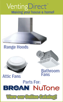 Picture of bathroom exhaust fans from  VentingDirect.com catalog