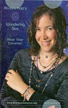 Picture of horoscope jewelry from Wandering Star Astrology Jewelry catalog