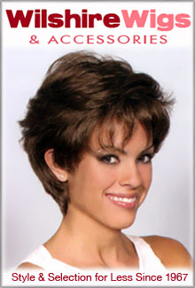 Picture of discount human hair wigs from Wilshire Wigs & Accessories catalog