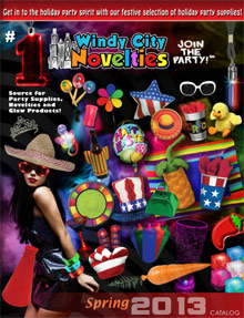 Picture of windy city novelties from Windy City Novelties  catalog