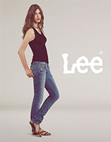 Picture of most popular jeans from Lee Jeans catalog