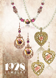 Picture of vintage style jewelry from 1928 Jewelry catalog