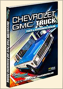 Picture of truck restoration parts from GMC Truck Parts from Classic Industries catalog