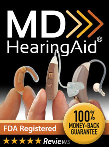 Picture of md hearing aid from MDHearingAid catalog