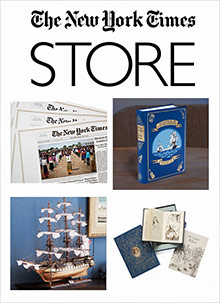 Picture of New York Times store from The New York Times Store catalog
