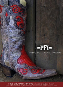 Picture of western clothing store from PFI Western Wear Store - Dynalog Only catalog