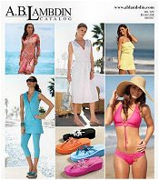 Picture of cruise wear from AB Lambdin Resort Wear - Only at Spiegel catalog