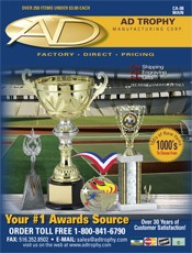 Picture of plaques trophies from AD Trophy catalog