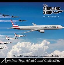Picture of airplane shop from The Airplane Shop catalog