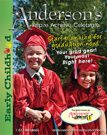 Picture of kindergarten graduation ideas from Anderson�s Early Childhood Development catalog