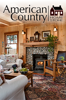 Picture of French bistro chairs from American Country Home Store catalog