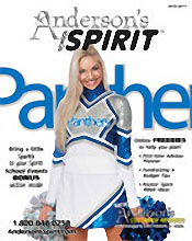 Picture of cheer megaphone from Anderson's Spirit catalog