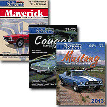 Picture of Ford parts catalog from Auto Krafters � Ford & Mercury catalog