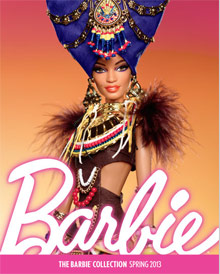 Picture of barbie catalog from Barbie Collector catalog