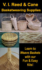 Picture of basket weaving supplies from Basketweaving.com catalog