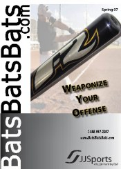 Picture of baseball equipment online from BatsBatsBats.com catalog