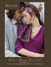 Picture of ladies scarves from Belisi Women's Fashion catalog