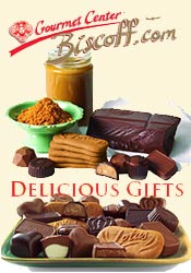 Picture of Belgian cookies from Biscoff Gourmet Cookies catalog
