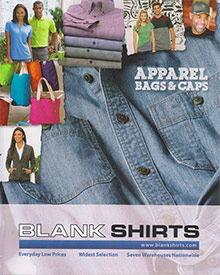 Picture of wholesale t-shirts from Blank Shirts Wholesale catalog
