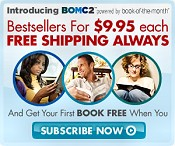 Picture of john grisham books from BOMC2™ catalog