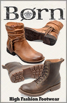 Picture of born wedge sandals from Born Shoes catalog