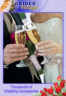Picture of wedding favors from Brides Village Wedding Accessories catalog